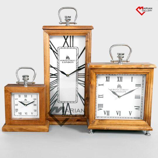 خرید ساعت دکوری چوبی